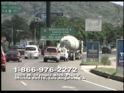 (El Salvador) Lotes en (Santa Ana) 1-800-976-2272