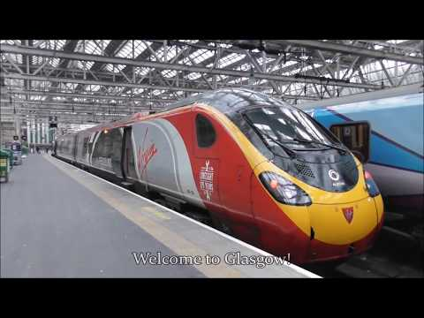Virgin Trains First Class | London Euston - Glasgow Central 13/01/2018