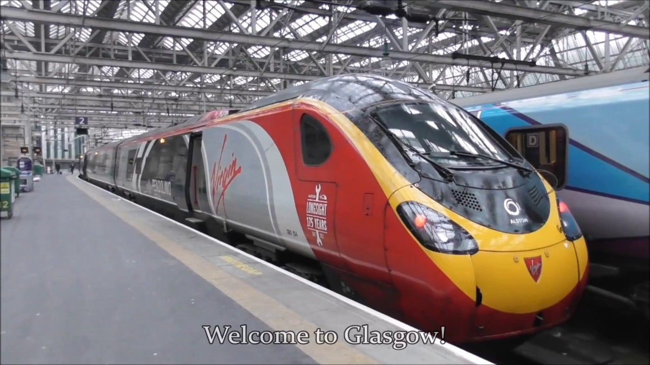 Virgin Trains First Class | London Euston - Glasgow Central 13/01/2018