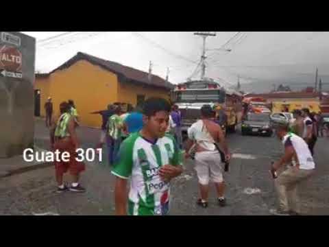 Disturbios Antigua y Xelajú