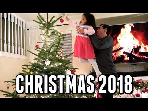 OUR 2018 CHRISTMAS! -  ItsJudysLife Vlogs thumbnail