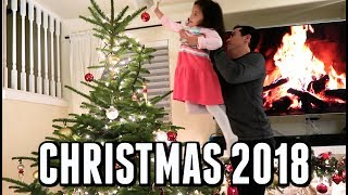 OUR 2018 CHRISTMAS! -  ItsJudysLife Vlogs