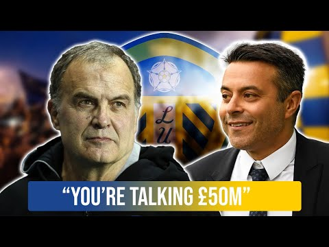 'You're talking £50m' – Leeds agree blockbuster 2021 signing as manager reacts