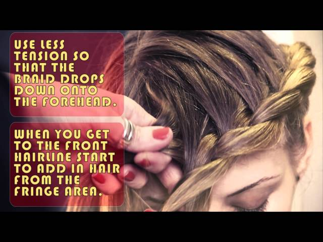 Global scalp plait (The hair hat) tutorial
