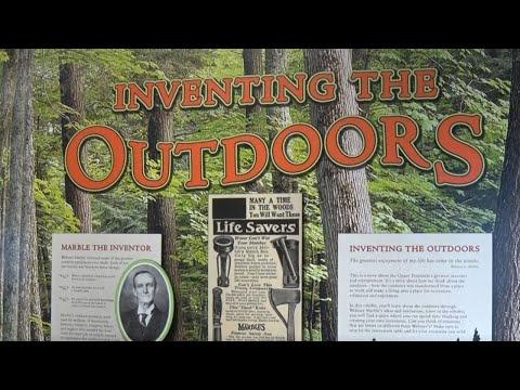 Discovering - Webster Marble Inventing the Outdoors Exhibit