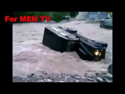 Как люди топят в воде свои тачки просто на ровном месте :)