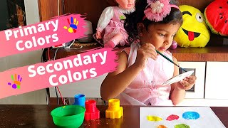 Primary and Secondary Colors | Primary vs Secondary Colors |  Primary Color Mixing | Colors for Kids