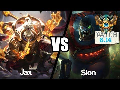 Vidéo d'Alderiate : [FR] ALDERIATE - JAX VS SION - 8.14 - CHALLENGER