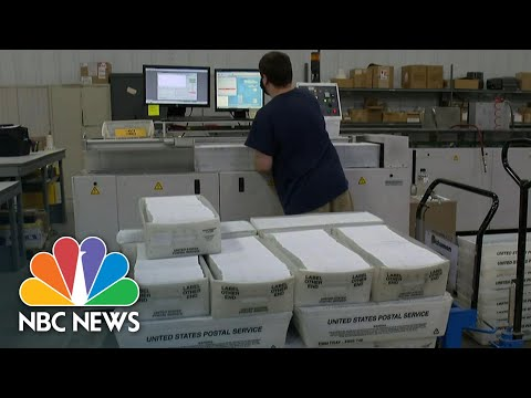 Michigan Sees Surge In Mail-In Ballots For State Primary   NBC News NOW