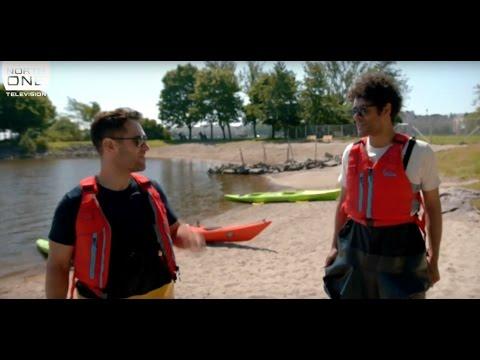 Richard Ayaode & Paul Rudd go kayaking - Travel Man S03E02