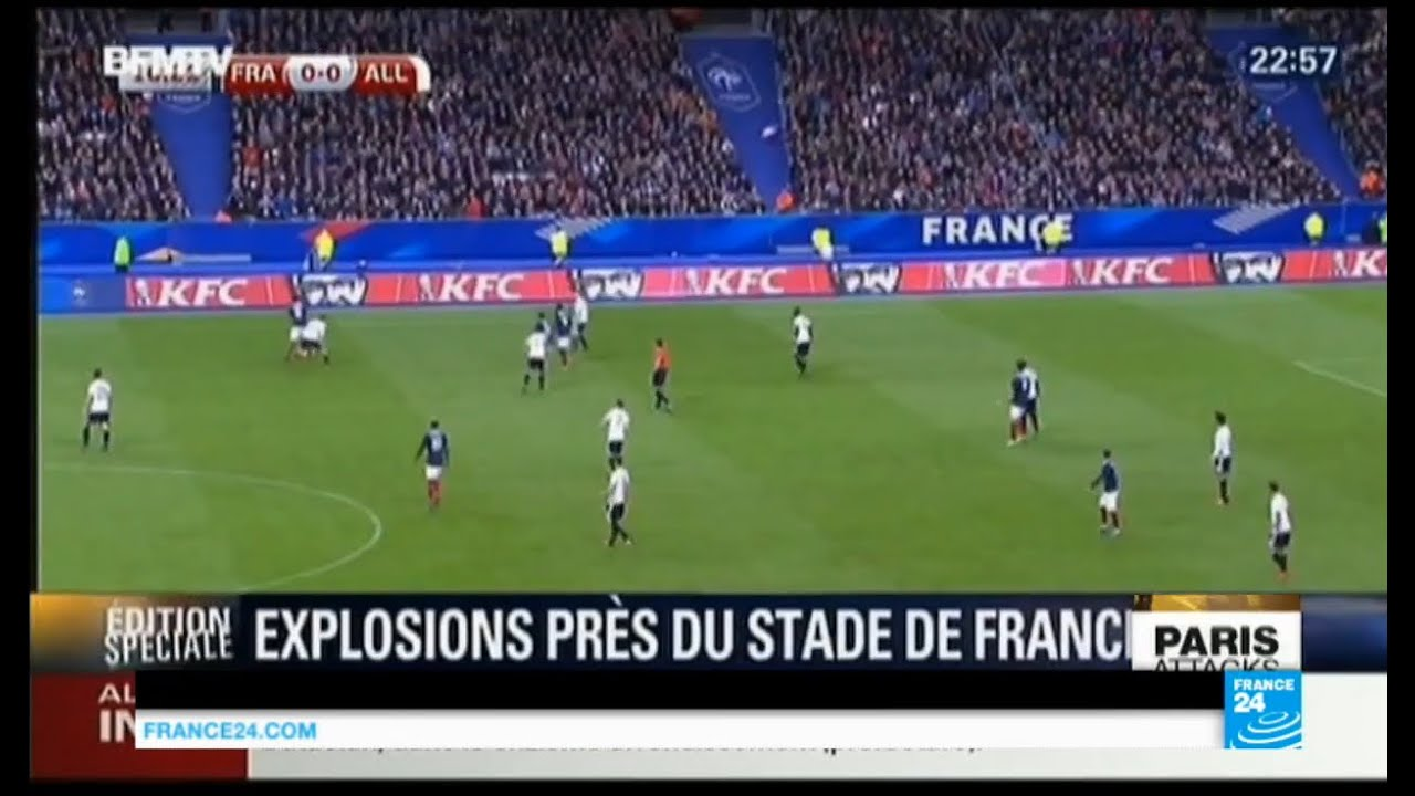 Download Paris attacks: overview of Stade de France suicide bombings amidst football game