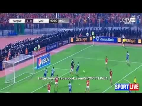 DEMBELE SOULEYMANE OF SEWE SPORT AGAINS AL AHLY OF EGYPT FINAL OF CONFEDERATION CUP OF AFRICA
