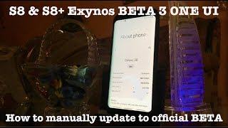 Download How To Install One Ui Beta 2 On S8 S8 Exynos G950f D G955f