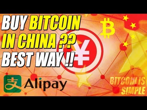 Buy BITCOIN in CHINA ?? Use any Payment Method, including ALIPAY !!
