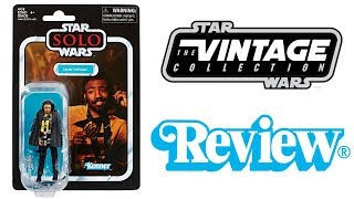 Star Wars Vintage Collection Lando Calrissian VC139 Review (Solo)