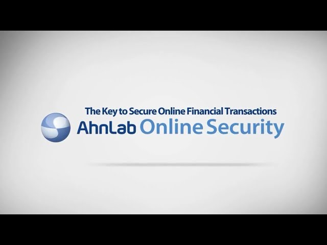 AhnLab Online Security (AOS): English