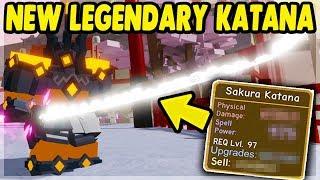 *NEW* BEST LEGENDARY (Sakura Katana) Samurai Palace UPDATE | Roblox: Dungeon Quest