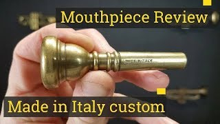 Review: Trumpet Mouthpiece - Vintage Made in Italy in brass