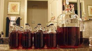 Приготовление домашнего вина / house wine
