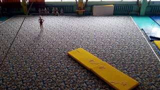 Ессентуки. Соревнования по спортивной гимнастике. Вольные. 03.03.2017