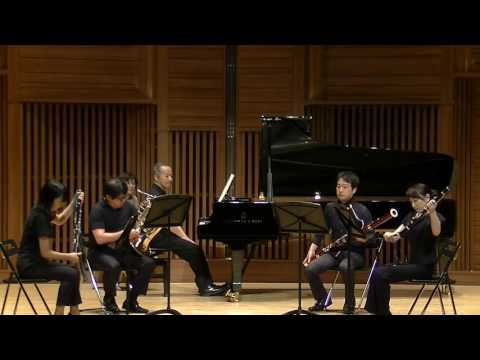 W.A. Mozart Quintet K.452 for Piano Oboe Clarinet Basson Horn
