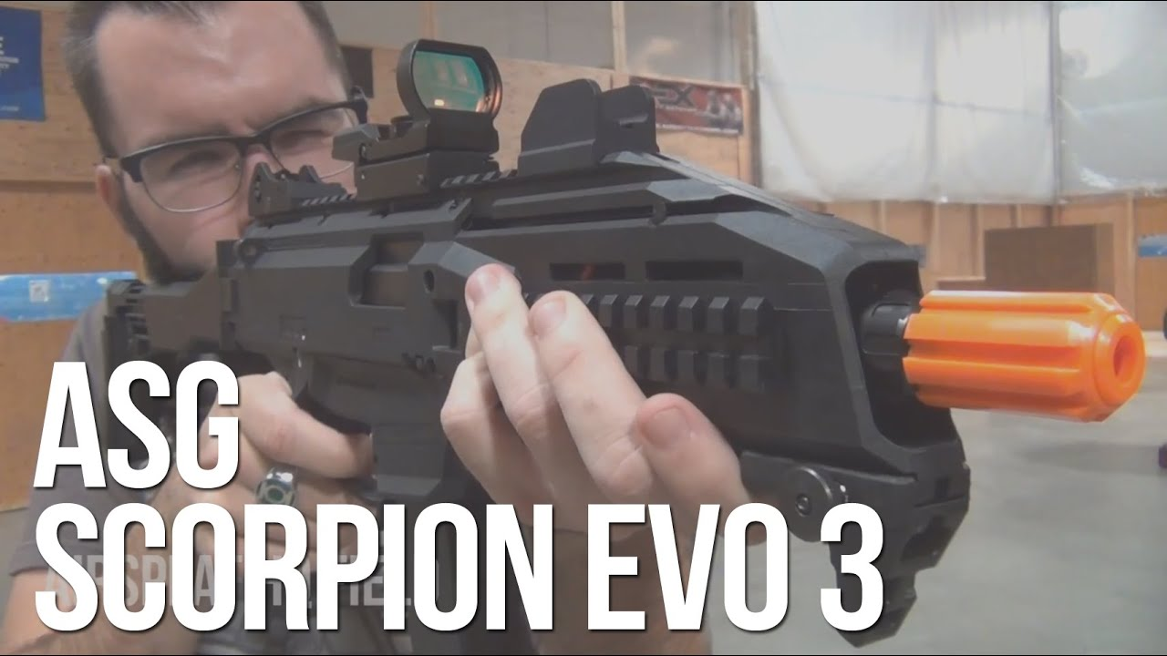 Asg Cz Scorpion Evo 3 A1 Aeg Airsoft Smg Quick Review Airsplat