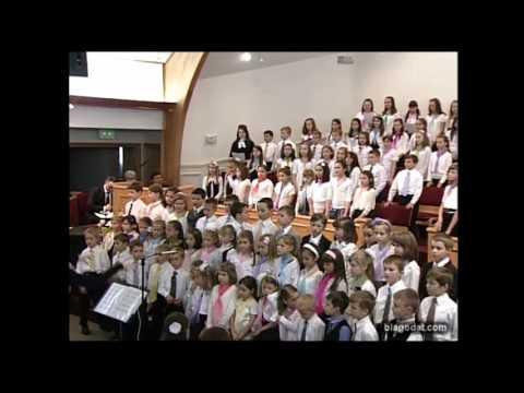 Честь и слава польется тебе Kids Choir