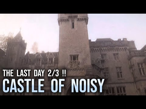 LAST DAY of Fairytale Castle Miranda / Noisy !! (2/3: Climbing The Clock Tower !!)