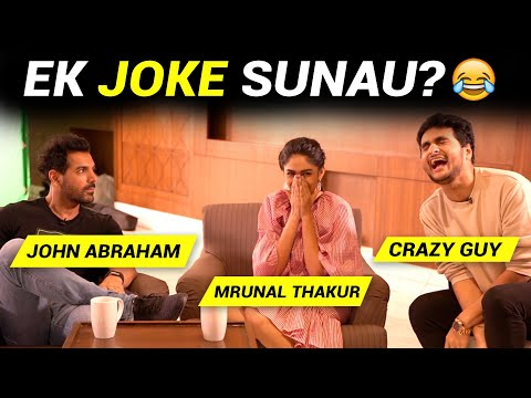 EK JOKE SUNAU KYA? Ft. John Abraham, Mrunal Thakur | Anmol Sachar | Batla House | Funny Hindi Vines