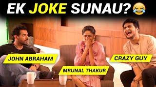 EK JOKE SUNAU KYA? Ft. John Abraham, Mrunal Thakur   Anmol Sachar   Batla House   Funny Hindi Vines