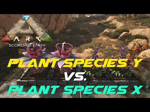 Plant Species Y vs. Plant Species X | ARK: Scorched Earth