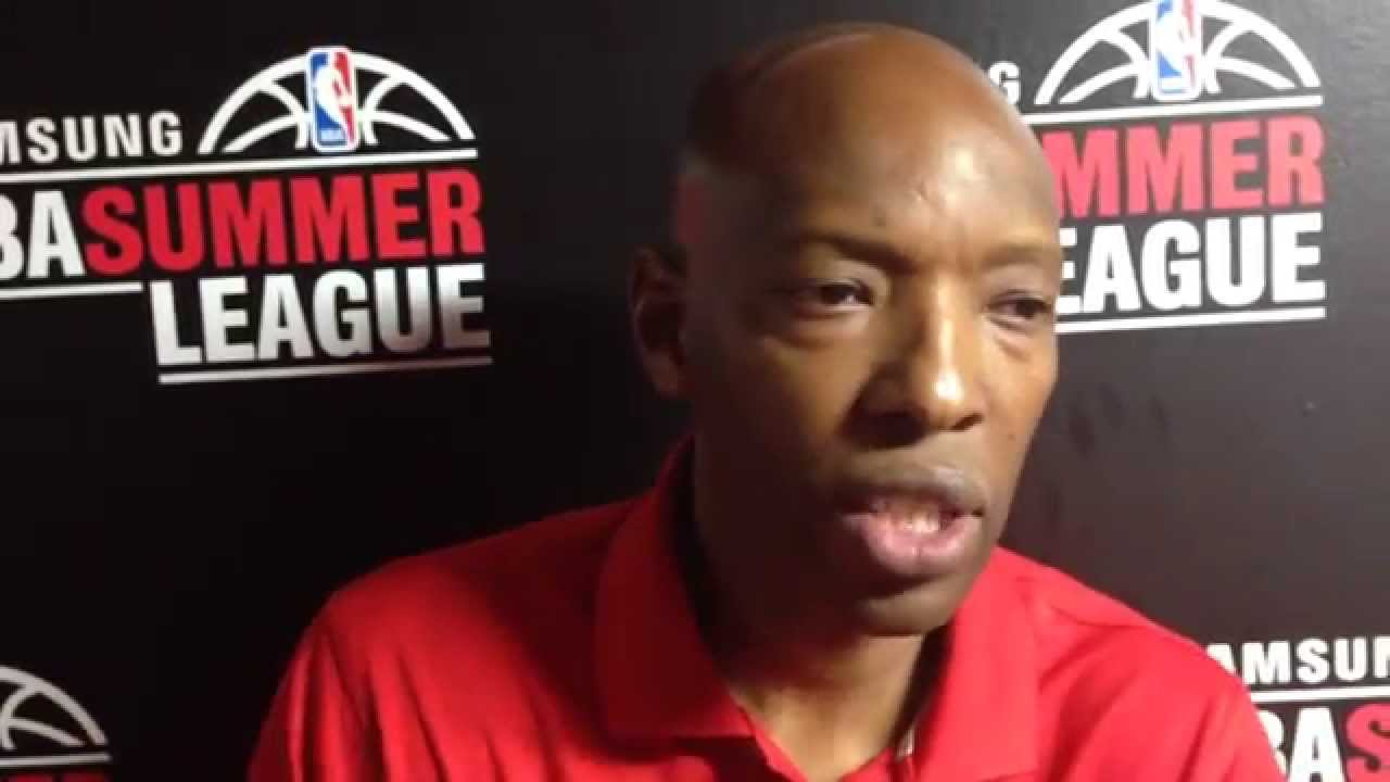Wizards Sam Cassell on the development of Glen Rice Jr at Summer