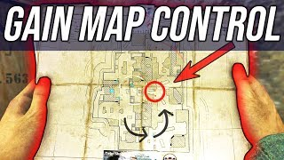 MAP CONTROL in COD WW2 - WIN MORE GAMES IN CALL OF DUTY!!