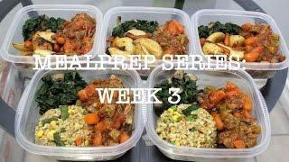 February Mealprep Series: Week 3  | Misst1806   | Pork Shoulder Roast W/ Potatoes, Barley & Spinach