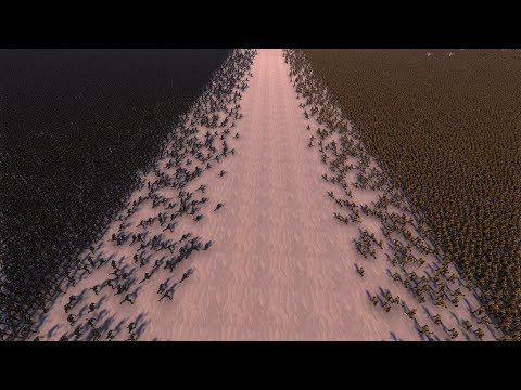 20.000 DEADPOOL vs 20.000 WOLVERINE - Ultimate Epic Battle Simulator
