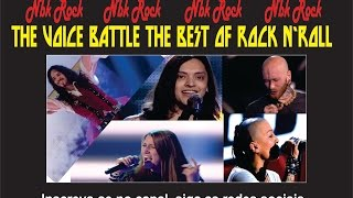 THE VOICE BATTLE THE BEST OF ROCK N'ROLL