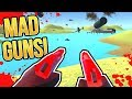 CRAZY Ravenfield WEAPONS (Anti-Air Dual Red Pistols) | How To Get AA-AA in Ravenfield