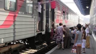 Срыв стоп-крана. Поезд № 22 Киев-Москва.