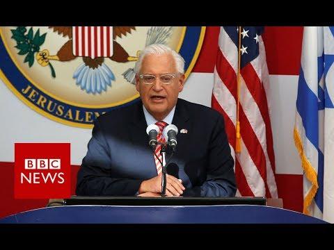 US ambassador declares Jerusalem embassy open - BBC News
