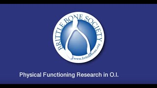 Podcast #4   Physical Functioning Research in OI with Dr Alex Ireland