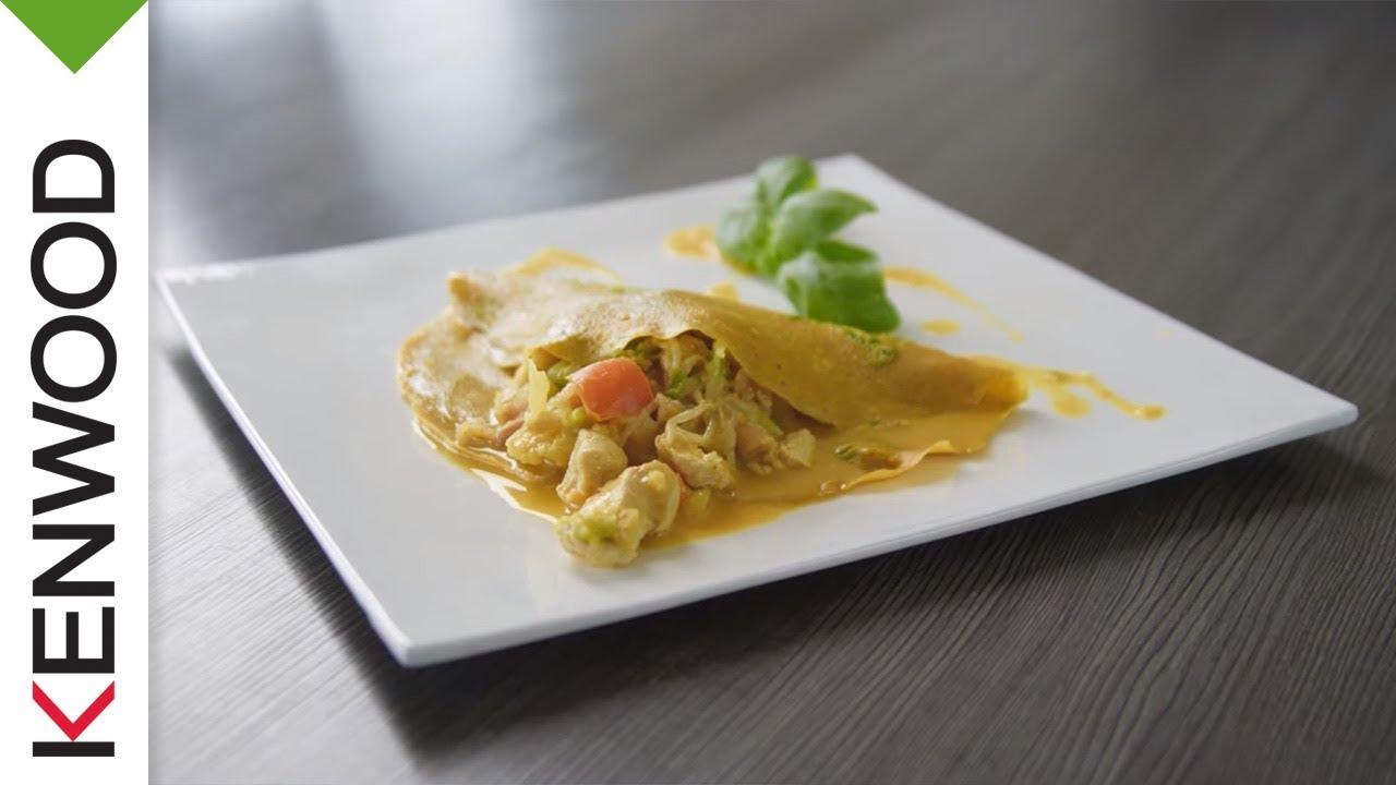 Rezepte für kenwood küchenmaschine  Asiatische Küche | Rezept Kenwood Cooking Chef - YouTube