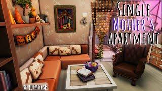 Квартира матери-одиночки│Строительство│Single Mother's Apartment│SpeedBuild [The Sims 4]