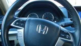 2008 Honda Accord Coupe Interior Review
