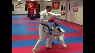 daily karate vlog 42 ducking slipping for kumite self defence