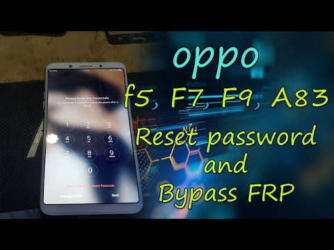 oppo f5 password reset, oppo F7, F9, A83, New Security Tp