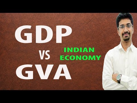 #UPSC #ECONOMY GDP Vs GVA | Difference Between Them.