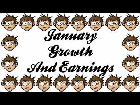 January Youtube Growth and Earnings Report