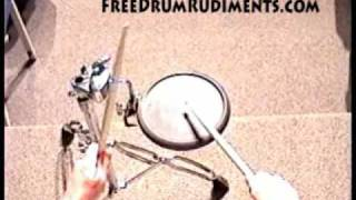 Drum Rudiments #33 - Double Drag Tap - FreeDrumRudiments.com