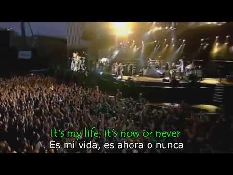BON JOVI - It's my life (Lyrics - Letra // Subtitulado)