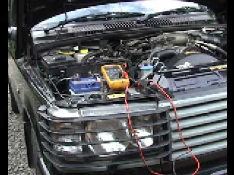 hqdefault p38 range rover battery drain test becm sleep test youtube range rover p38 becm wiring diagram at gsmx.co